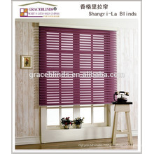 newest design style shangri-la blinds for home window modern decoration